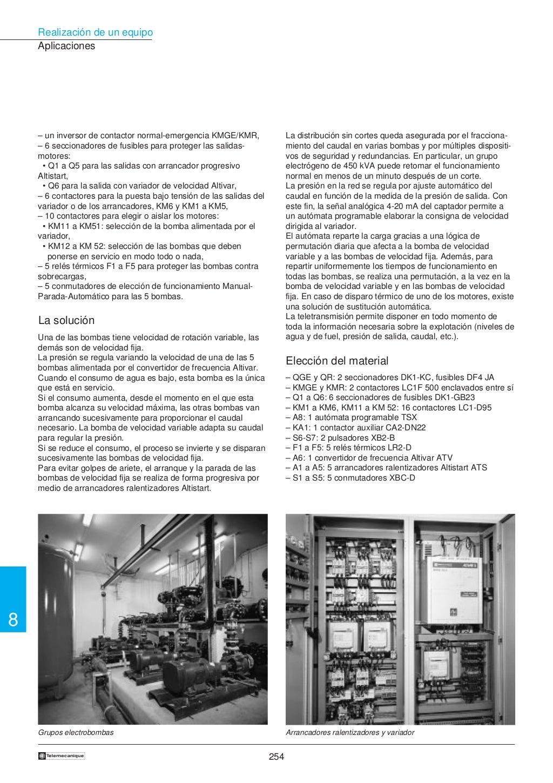 Manual electrotécnico -telesquemario telemecanique page 256