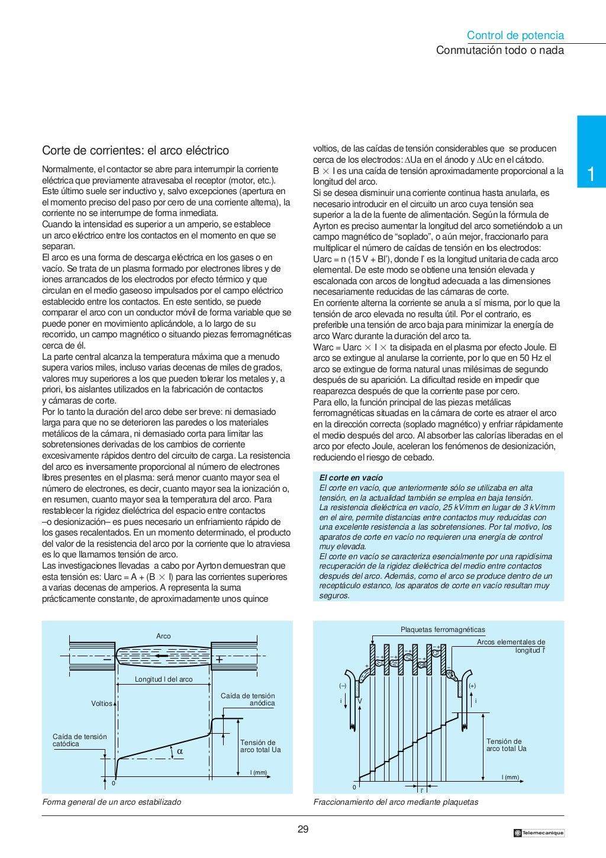 Manual electrotécnico -telesquemario telemecanique page 29