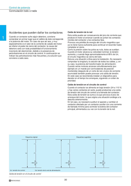 Manual electrotécnico -telesquemario telemecanique page 30