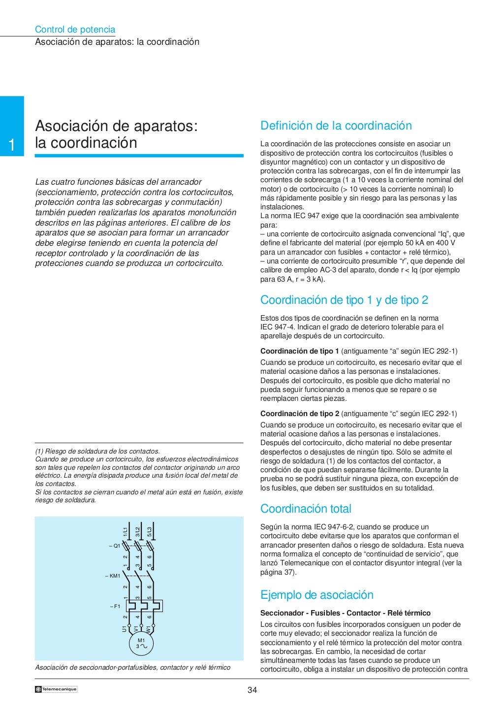 Manual electrotécnico -telesquemario telemecanique page 34