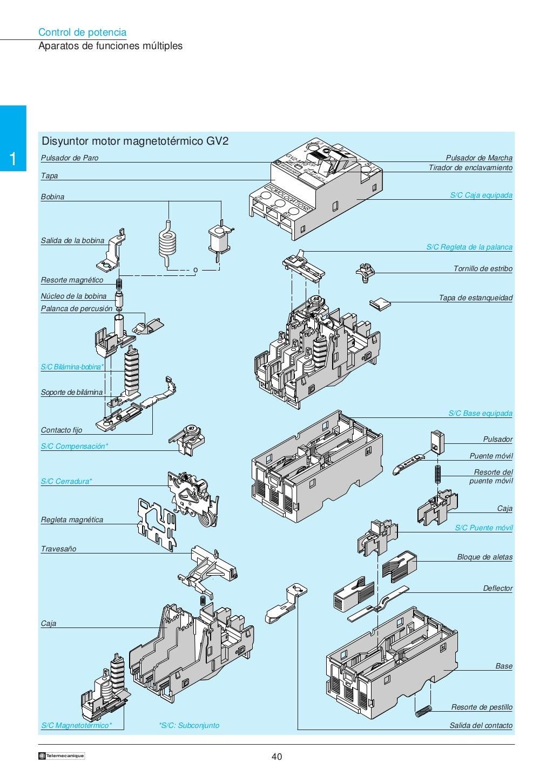 Manual electrotécnico -telesquemario telemecanique page 40