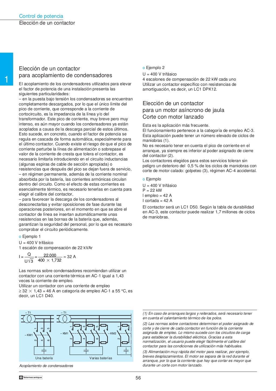 Manual electrotécnico -telesquemario telemecanique page 57