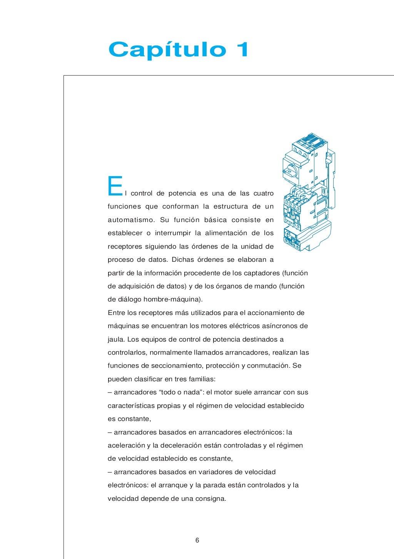 Manual electrotécnico -telesquemario telemecanique page 6
