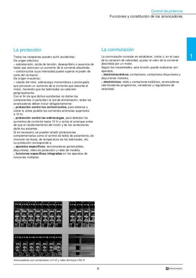 Contactores telemecanique Manual