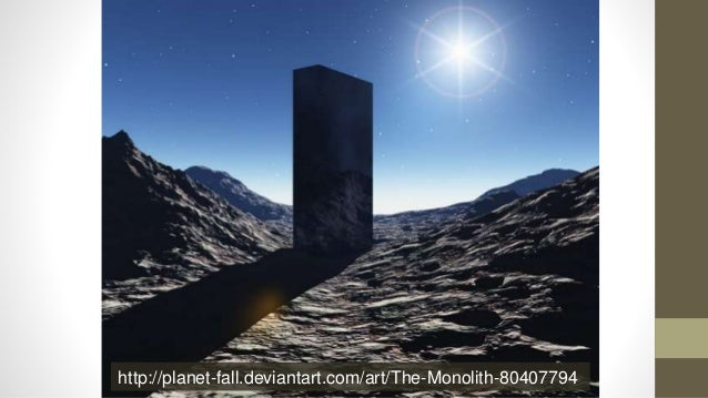 http://planet-fall.deviantart.com/art/The-Monolith-80407794