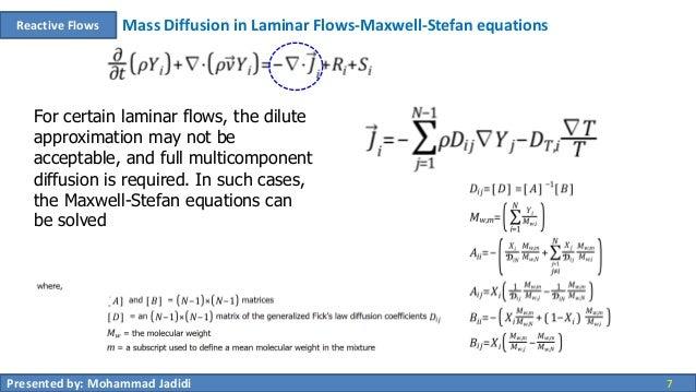 00 reactive flows - species transport