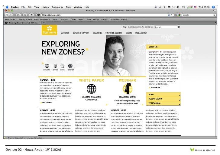 Option 02 - Home Page - 19' (1024)   DESIGN BY STRATIGO