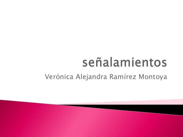 Verónica Alejandra Ramírez Montoya