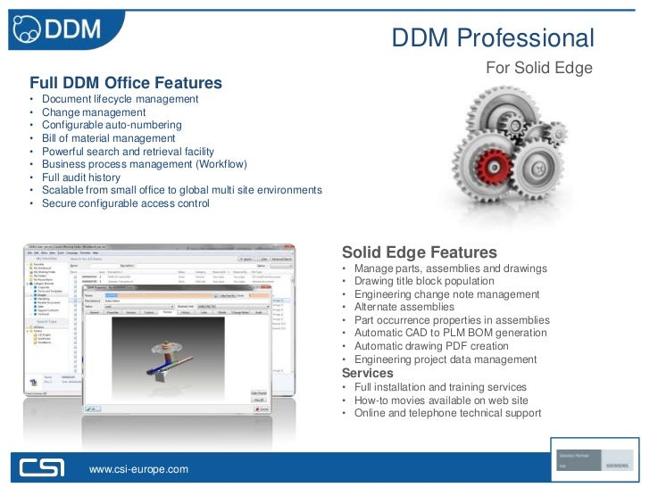 DDM Professional                                                                                                 For Solid...