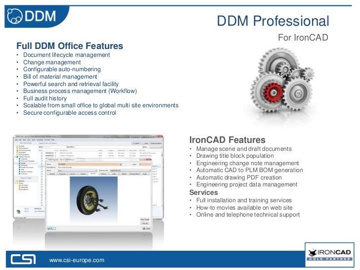 DDM Professional                                                                                                   For Iro...