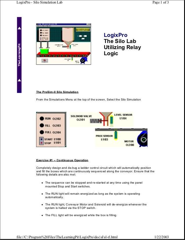 manual logixpro