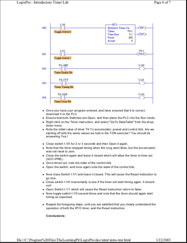 manual logixpro rh slideshare net LogixPro 500 plc Simulator LogixPro 500 plc Simulator