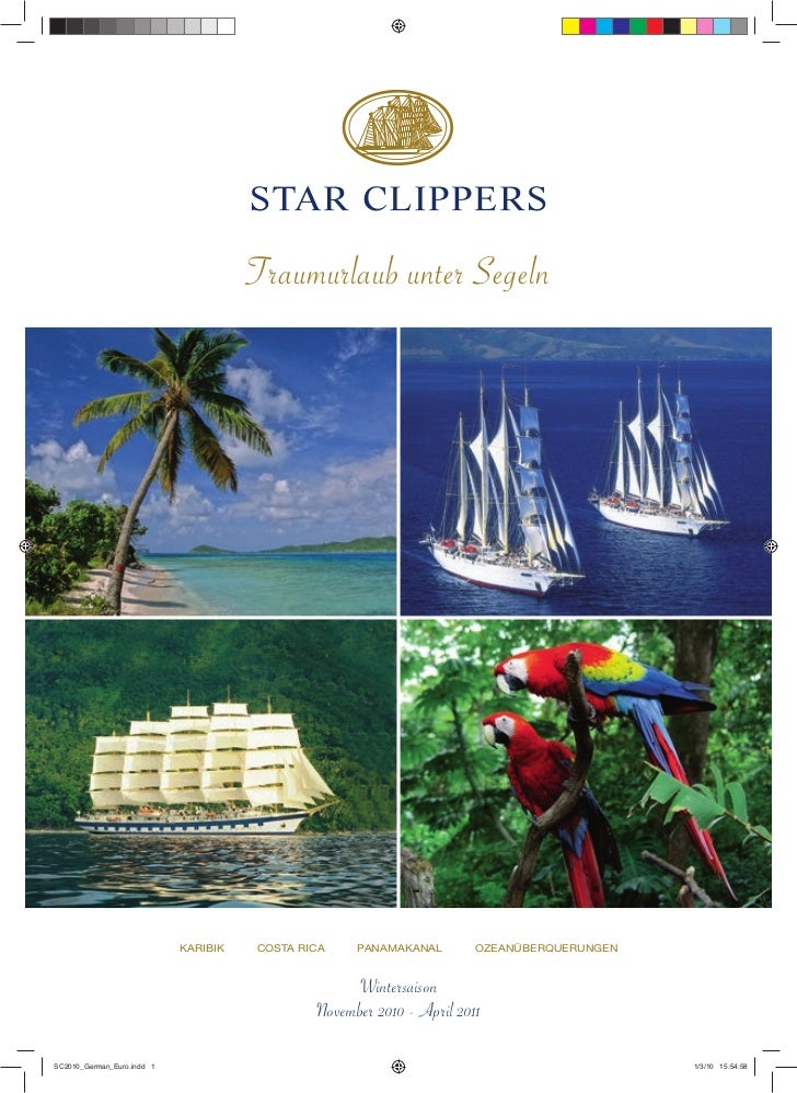 STAR CLIPPERS                                      Traumurlaub unter Segeln                            KARIBIK   COSTA RIC...