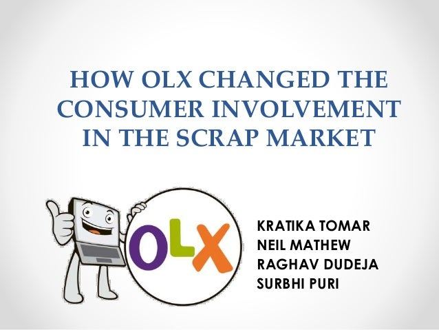How OLX changed the consumer involvement in the Scrap