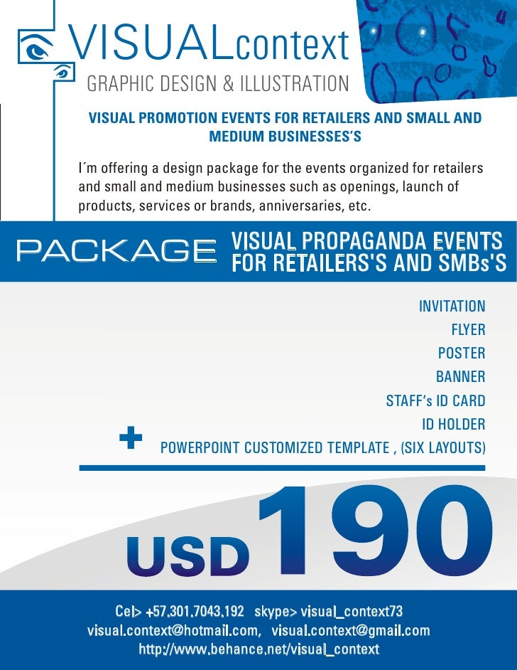 VISUALcontext   GRAPHIC DESIGN & ILLUSTRATION   VISUAL PROMOTION EVENTS FOR RETAILERS AND SMALL AND                  MEDIU...