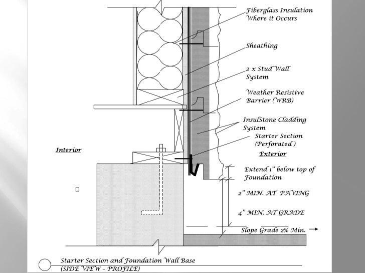 ... Cavity Insulation; 11. U201cInstallationu201dInsulStone Insulated Wall ...
