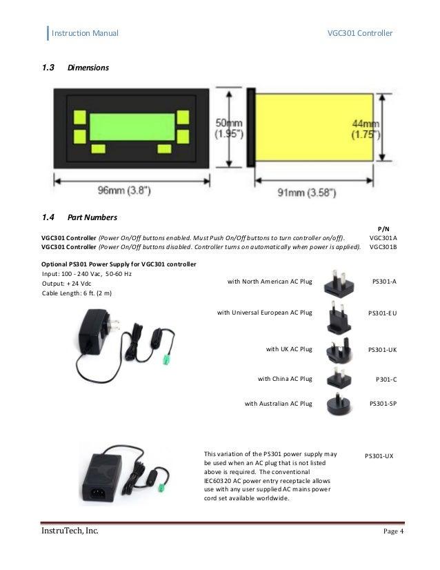 Convection Vacuum Gauge Controller Instruction Manual