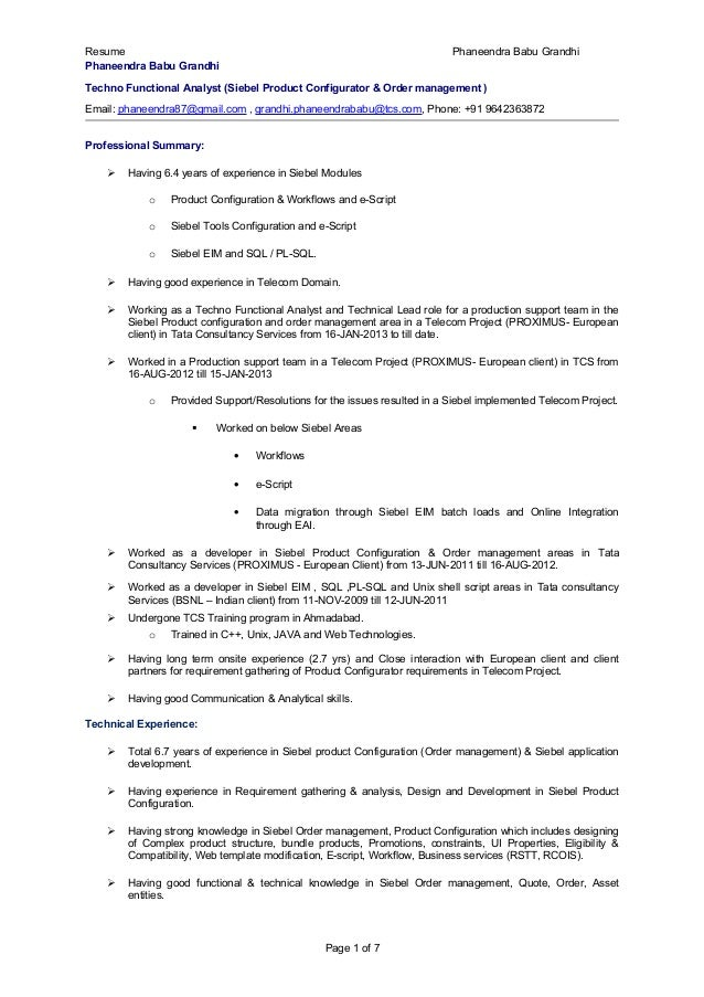 phaneendra siebel product configurator cv