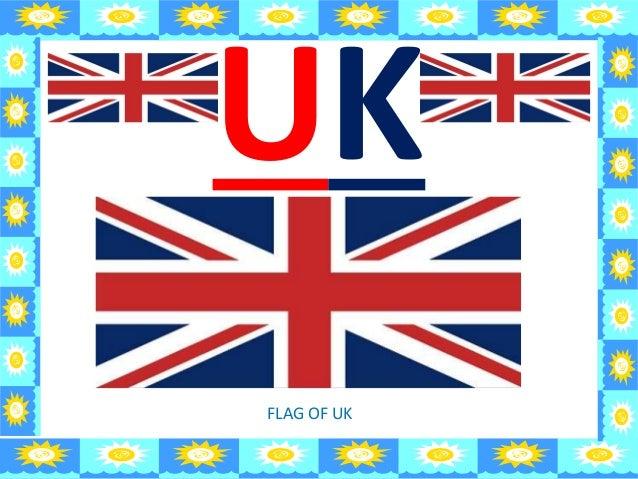 UK FLAG OF UK