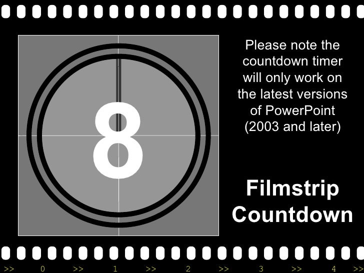 Please note the                                 countdown timer                                 will only work on         ...