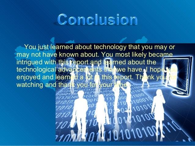 Technology Report By Noah Coffman
