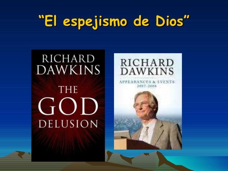 Ciencia y religion dawkins darwin ra ada - El espejismo de dios ...