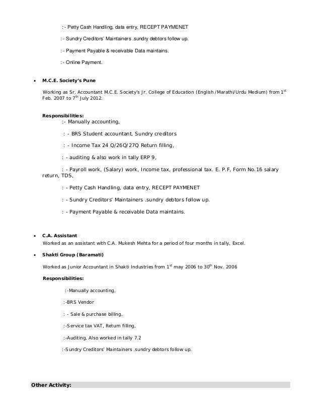 Resume Shahanawazshaikh