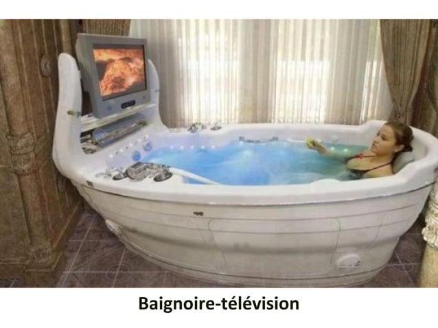 Baignoire-télévision