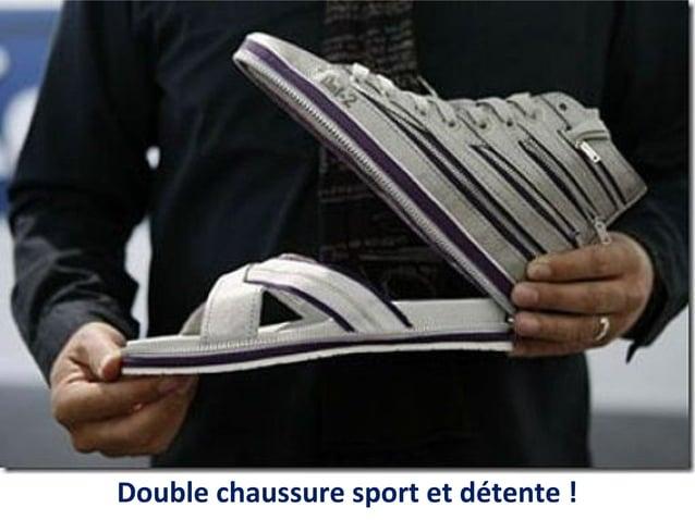 Double chaussure sport et détente !