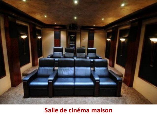 Salle de cinéma maison