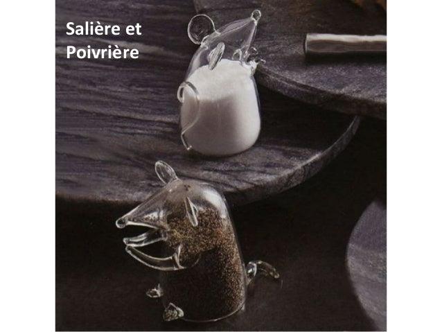 Salière et Poivrière