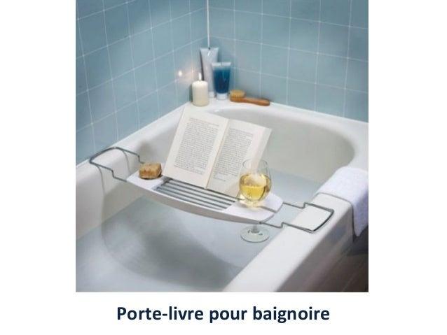 Porte-livre pour baignoire
