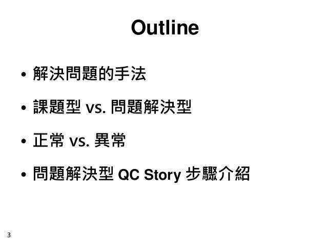 系統性問題解決方法-QC Story Slide 3