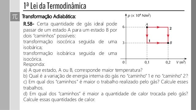Termodinamica conversão entre calor e trabalho