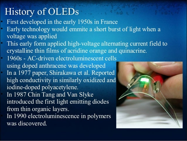 OLED (Organic Light Emitting Diode)