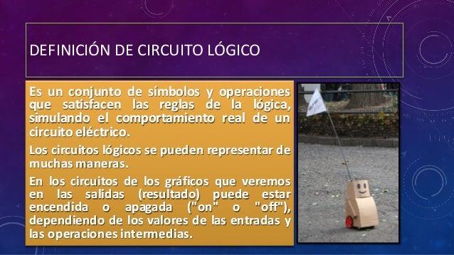 Circuito Logico Definicion : Compuertas lógicas