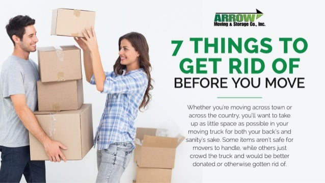 7 Things to Get Rid of Before You Move