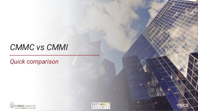 Source: https://www.acq.osd.mil/cmmc/index.html CMMC vs CMMI