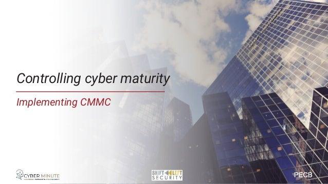 CMMC Main model description