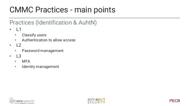 Practices (Incident response) • L2 • Incident handling procedure • Detecting & reporting • Analysis & response + root caus...