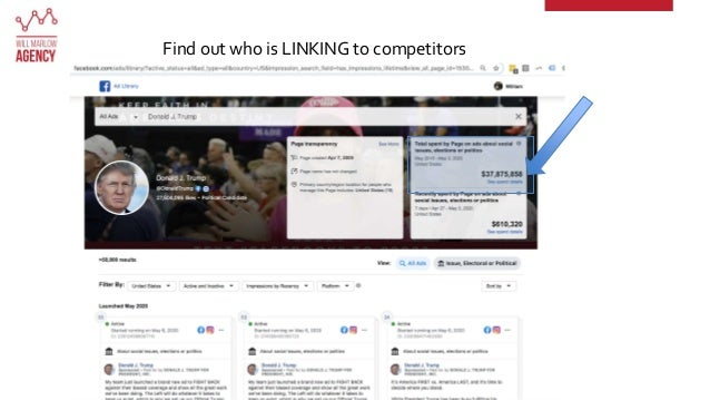 Find out who is LINKING to competitors