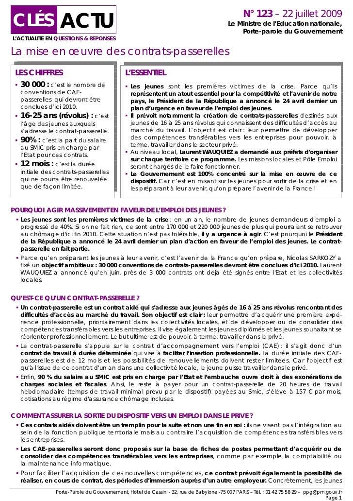 CLÉS ACTU                                                                                               N° 123 – 22 juille...