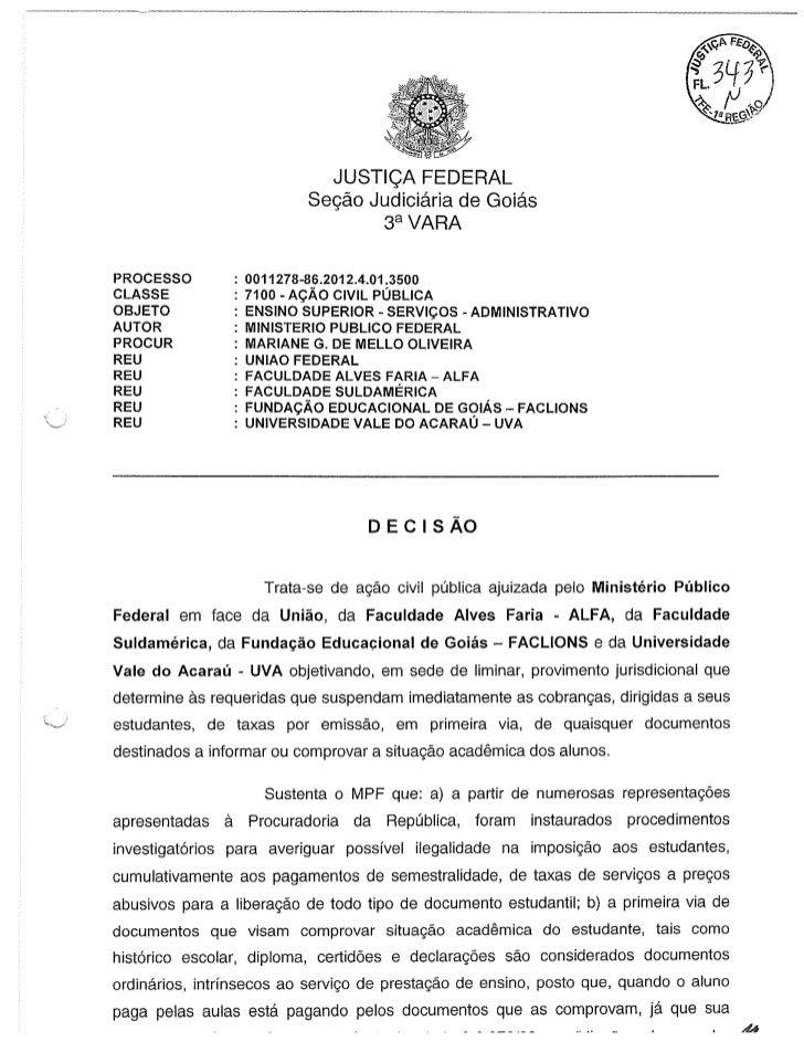 JUSTIÇA FEDERAL ISENTA ALUNOS DE COBRANÇA DE TAXAS UNIVERSITÁRIAS