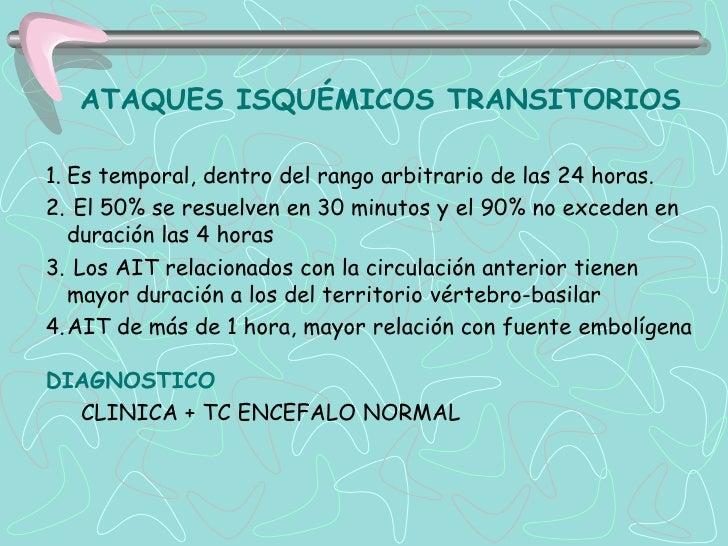 INFARTO CEREBRAL01. INFART ATEROTROMBOTICO DE GRANDE VASOS- En presencia de factores de riesgo vascular cerebral.-Impresci...