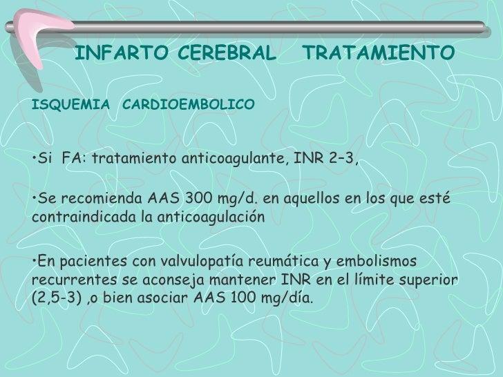 TROMBOLISIS INTRAARTERIAL         Urokinasa