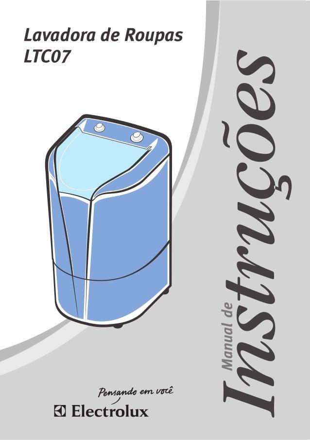 2 Manual do Usuário 1.1 Para Crianças Evite acidentes. Após desembalar a Lavadora, mantenha o material da embalagem fora d...