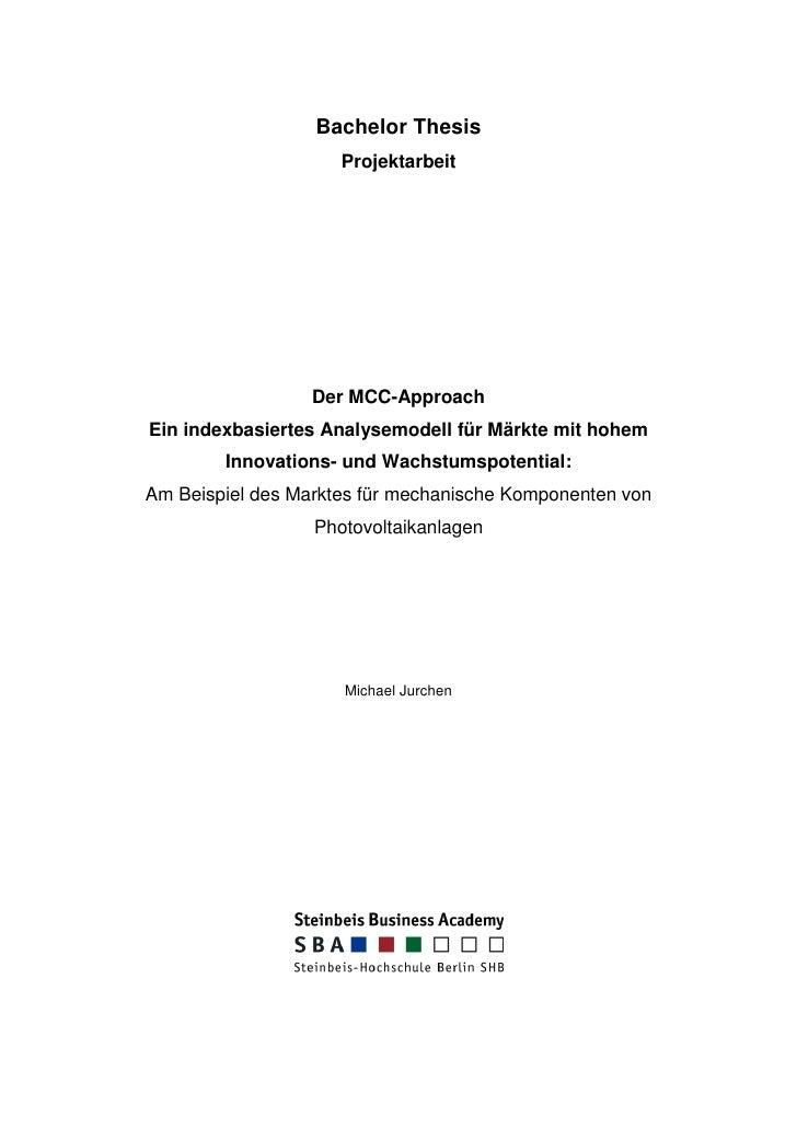 Master thesis marketing themen