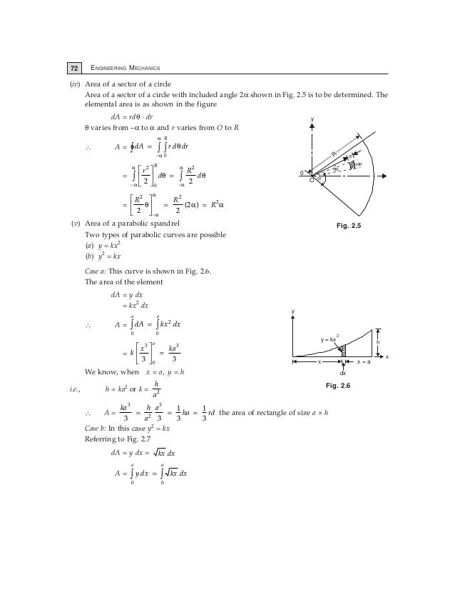 centroid and moment of inertia pdf