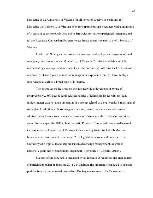 program evaluation literature review