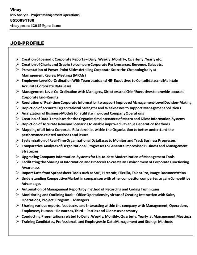 Mis Resume Sample | Resume CV Cover Letter